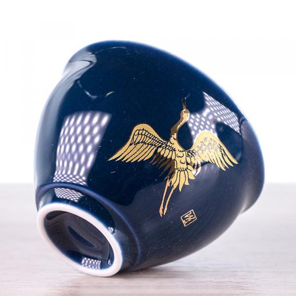 Пиала «Золотой журавль» фарфор 75мл