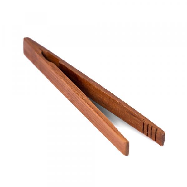 Пинцет для чайной церемонии, бамбук тёмный 17,5 см фото