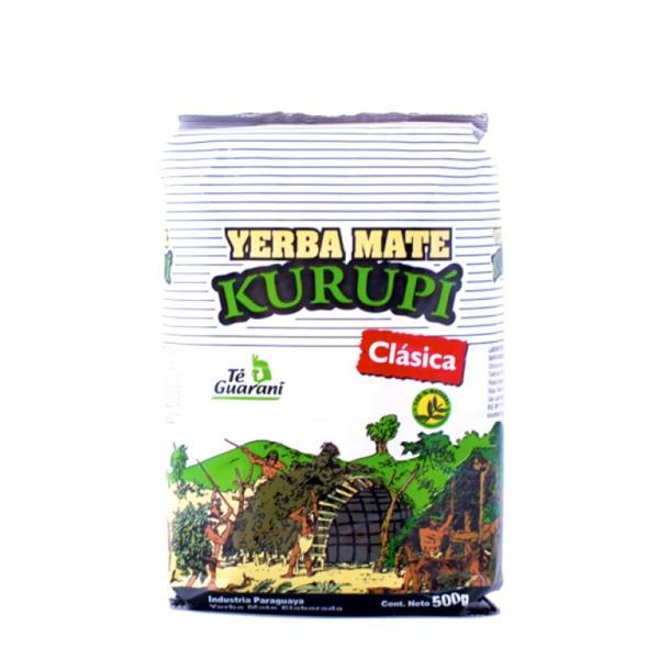Мате «Kurupi» классический зеленый 500г