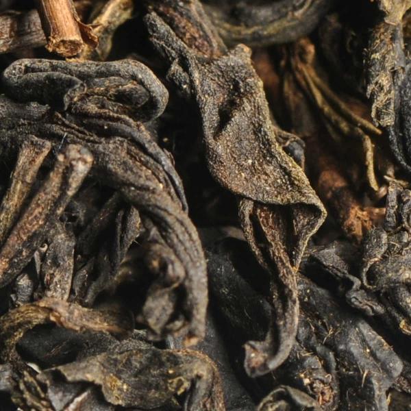 Красный чай Лю Ань Хэй Ча в корзине 2009г.
