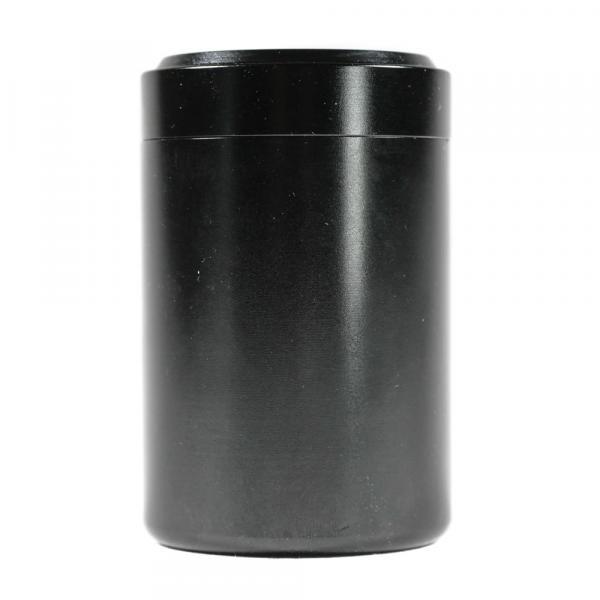 Баночка для чая «Чёрный» алюминий 4,5х7 см фото
