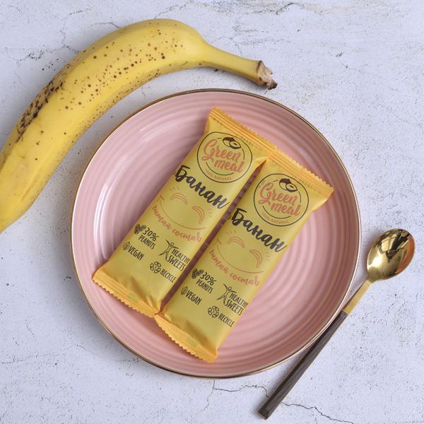 Батончик Green Meal «Банан» 50г