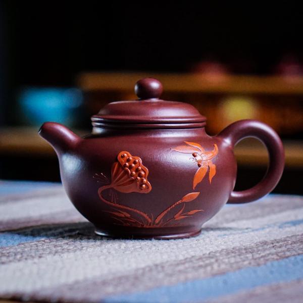Исинский чайник «Жун Тянь Ху Лиэн Хуа» 190 мл фото