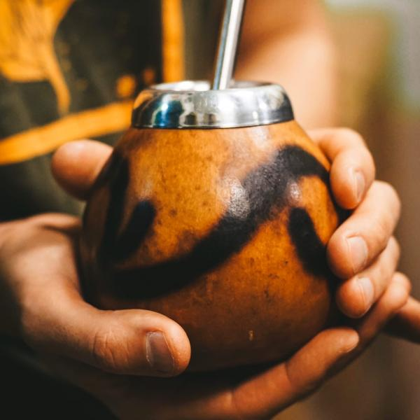 Калабас для мате из тыквы