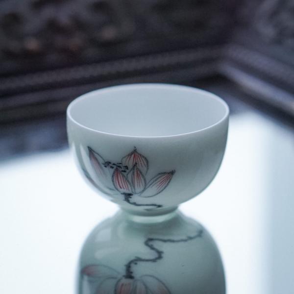 Пиала «Цветок лотоса» фарфор 50мл