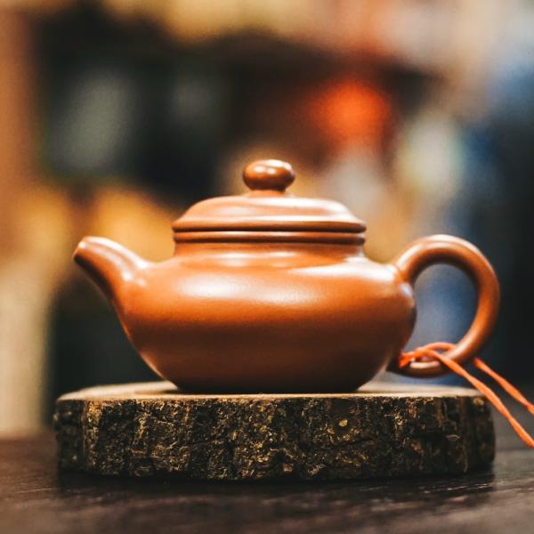 Исинский чайник «Фан Гу Цин Шуй Ни» из исинской глины 100 мл фото