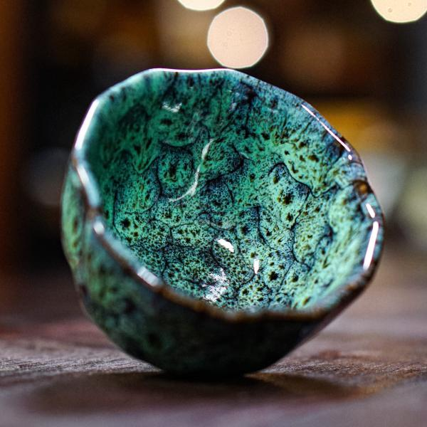 Пиала «Киви 2» керамика 100 мл фото