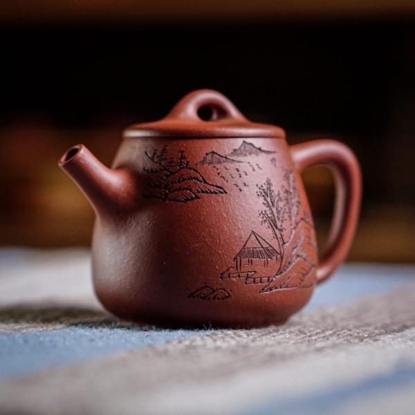 Исинский чайник «Ши Пяо эгоист» 80 мл фото