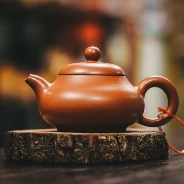 Исинский чайник «Фан Гу Эгоист» из исинской глины 95 мл фото
