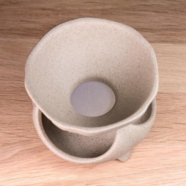 Сито для чая «Иероглиф чай» на подставке 8,5см