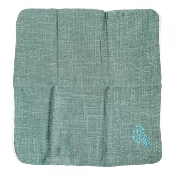 Чайное полотенце «Голубые облака» 28х28см