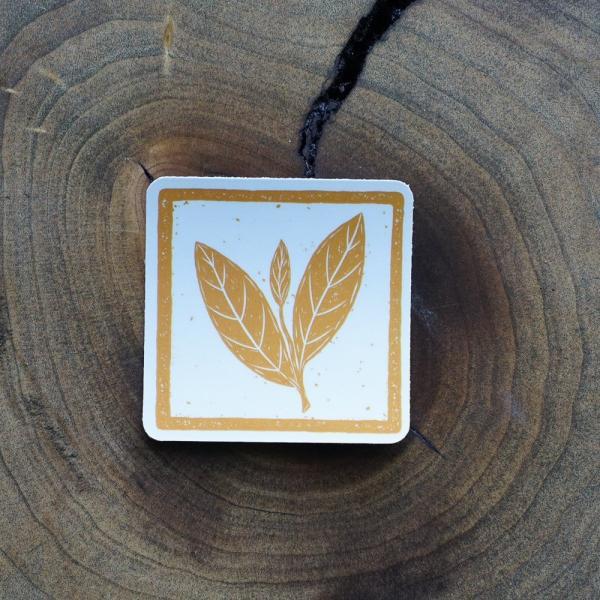 Чайный стикер № 1 «Лист»