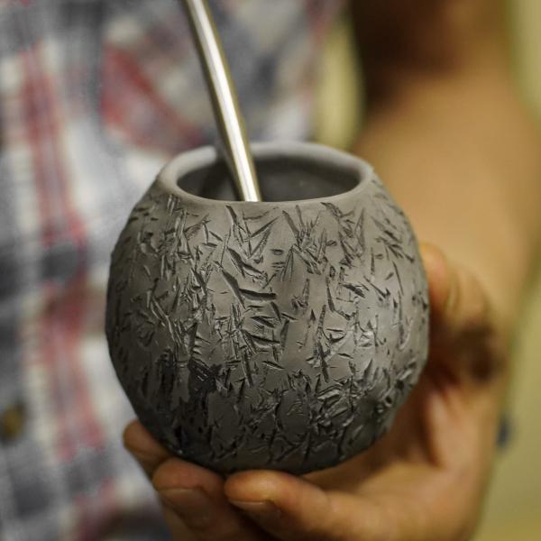 Калабас для мате «Бамбуковая роща» 160 мл фото