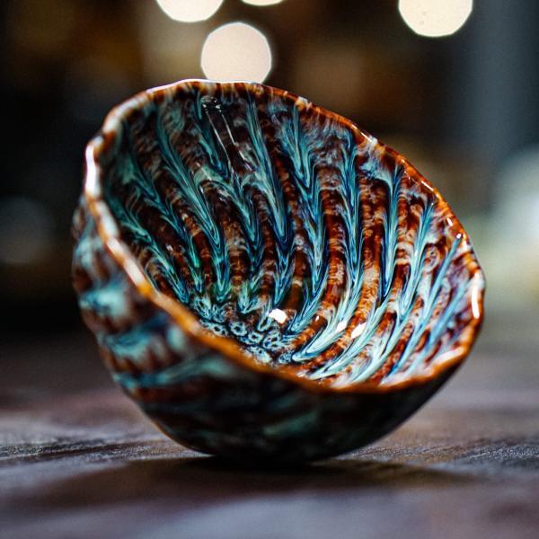 Пиала «Вода и песок» керамика 120 мл фото