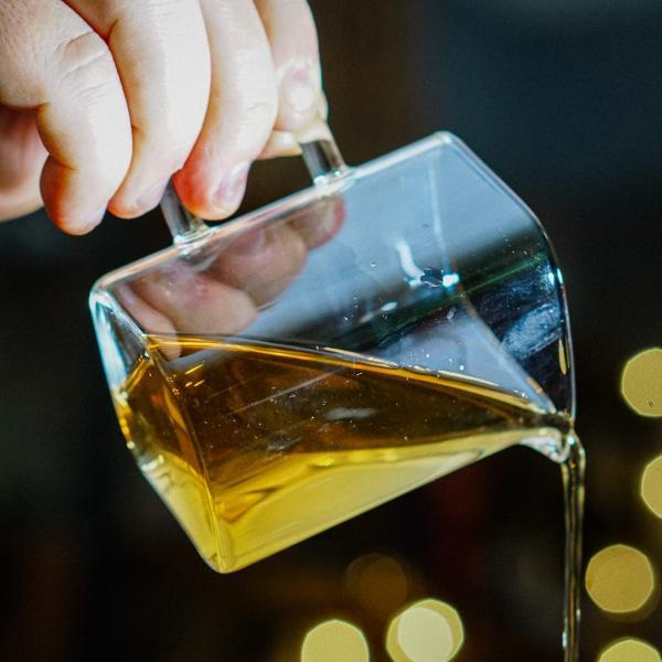 Купить Чахай для чая стекло Кубический фото