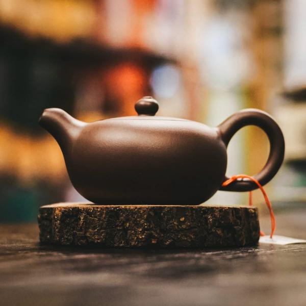 Исинский чайник «Юй Жу» из исинской глины 130 мл фото