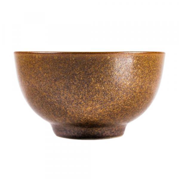 Пиала «Золото» керамика и глазурь 110 мл фото