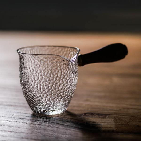 Чахай «Рельеф» с боковой ручкой отбивное стекло 170 мл фото