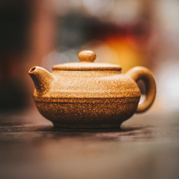 желтая глина чайник 120 мл фото