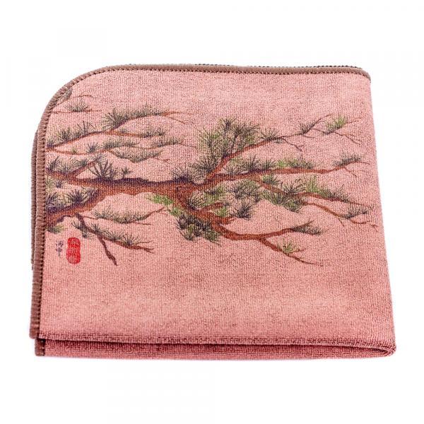 Чайное полотенце «Сосны» 30×30 см фото