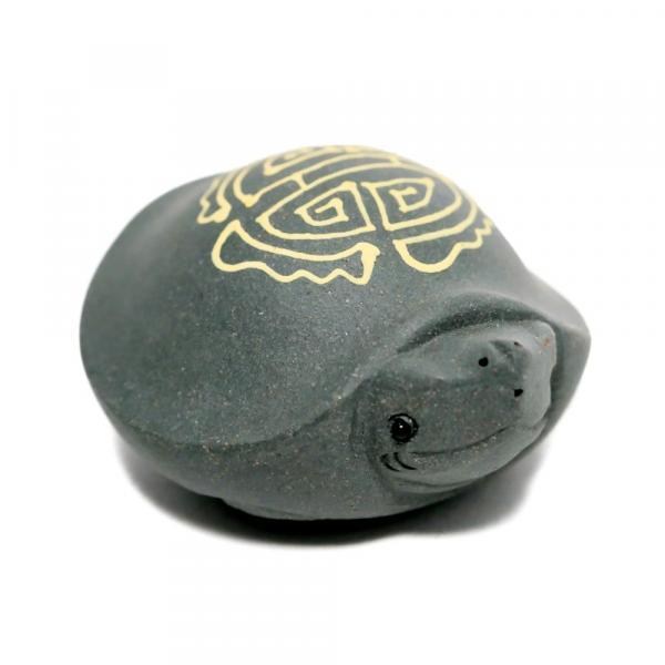 чайная фигурка черепашка серая фото