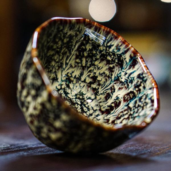 Пиала «Мириады волн» керамика 100 мл фото