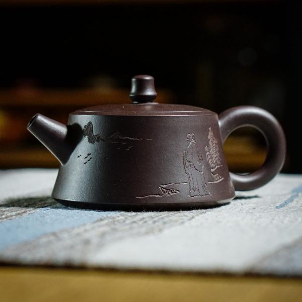 Исинский чайник «Ши Пяо Мудрец» 175 мл фото