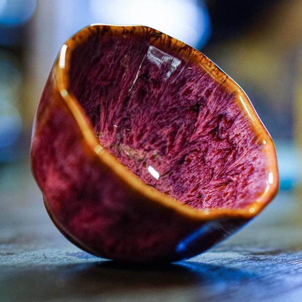 Пиала «Красная планета» керамика 100 мл фото