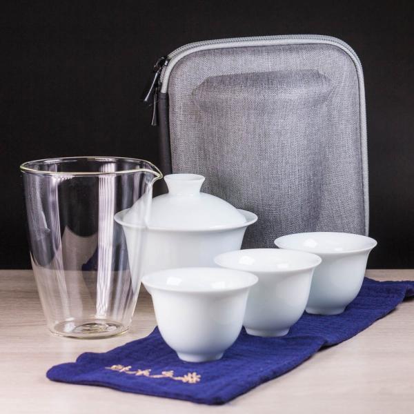 Походный чайный набор «Жесткая борсетка» 7 предметов фото