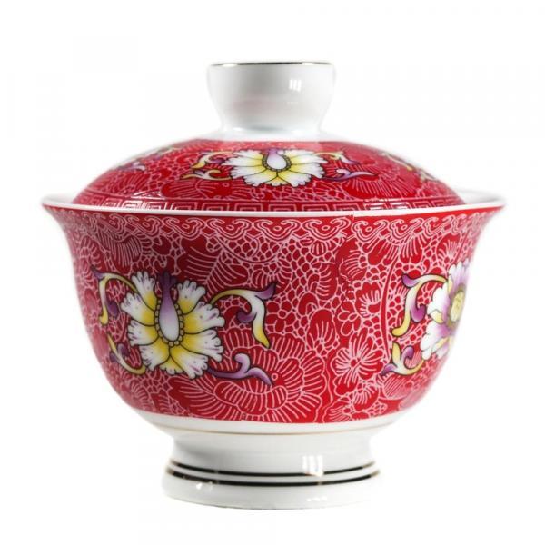Гайвань «Красные цветы» 170мл