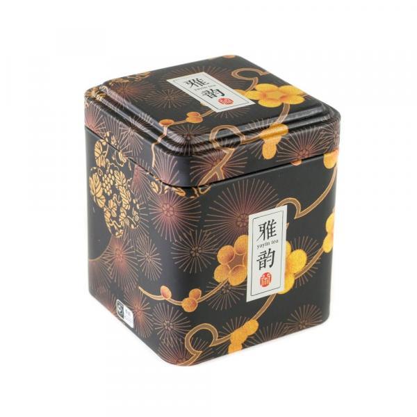 Баночка для чая «Желтые цветы» 350мл