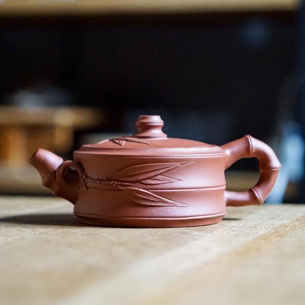 Исинский чайник «Чжу Дуань Цин Шуй Ни» 125 мл фото