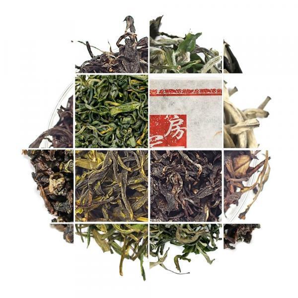 Чайный набор «Знакомство с китайским чаем»
