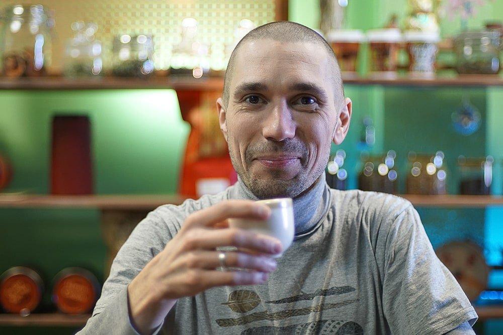 Пуэр на овсяном молоке-8 фото
