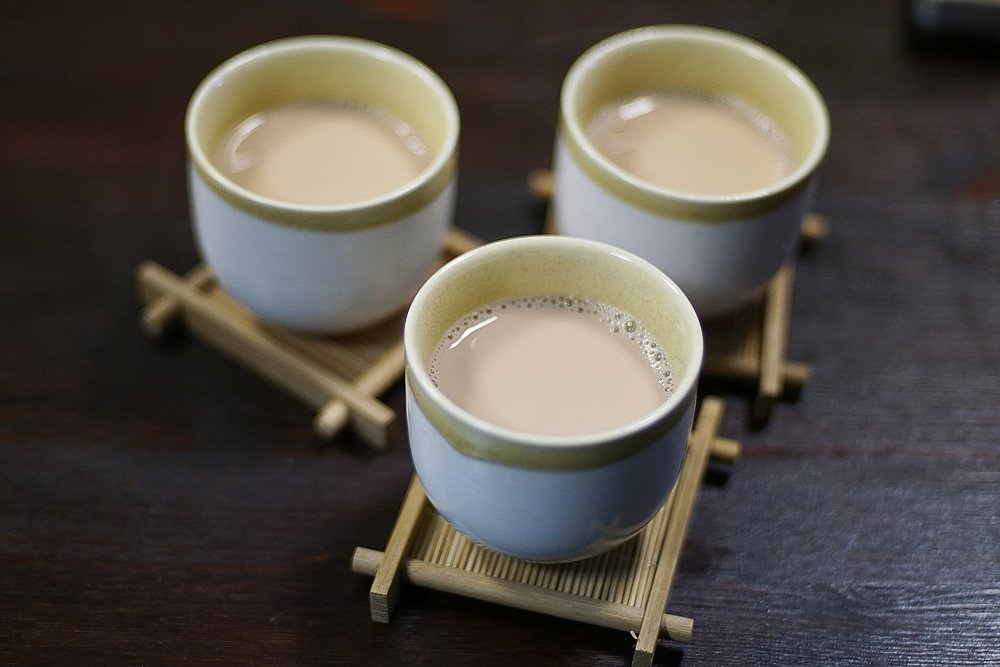 Пуэр на овсяном молоке-11 фото