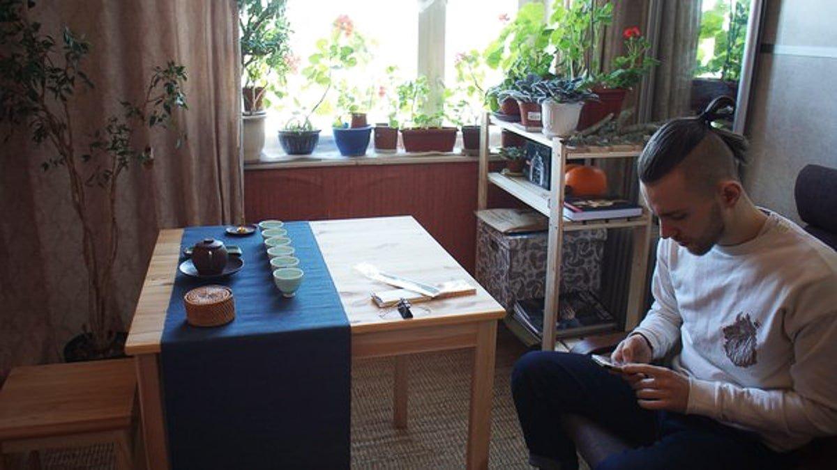 Чай в гостях у Ильи Распопова 2 фото