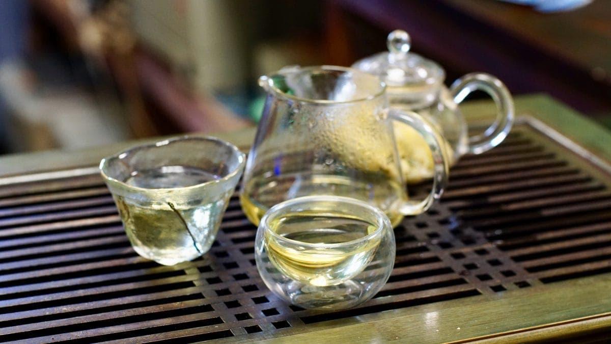 Хризантема чай чаепитие фото