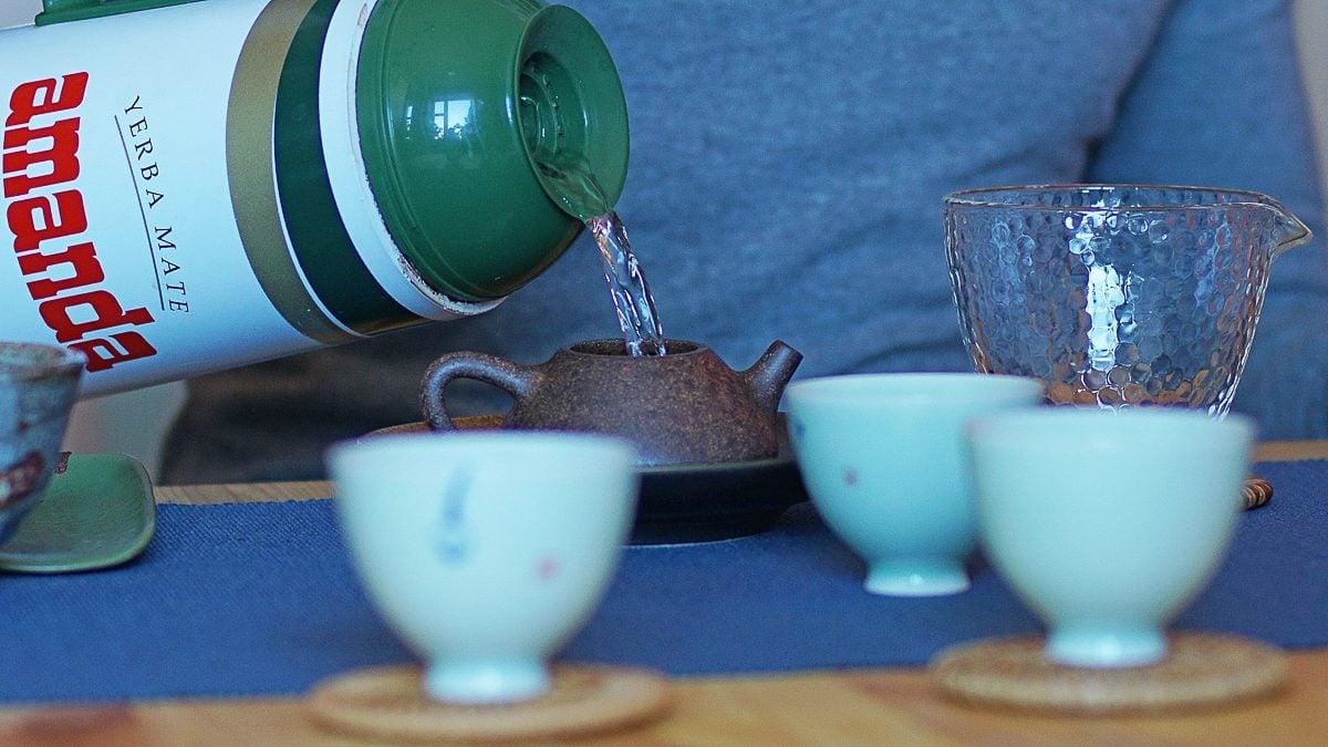 Чай в гостях у Ильи Распопова чай фото