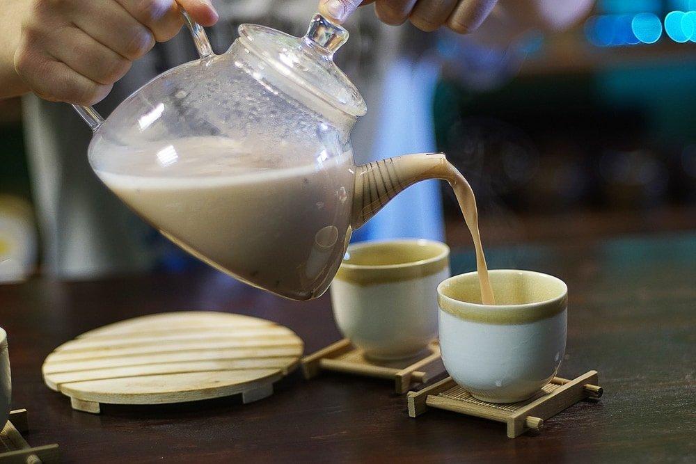 Пуэр на овсяном молоке-7 фото
