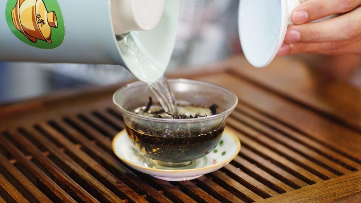 Краснодарский Габа чай гайвань фото