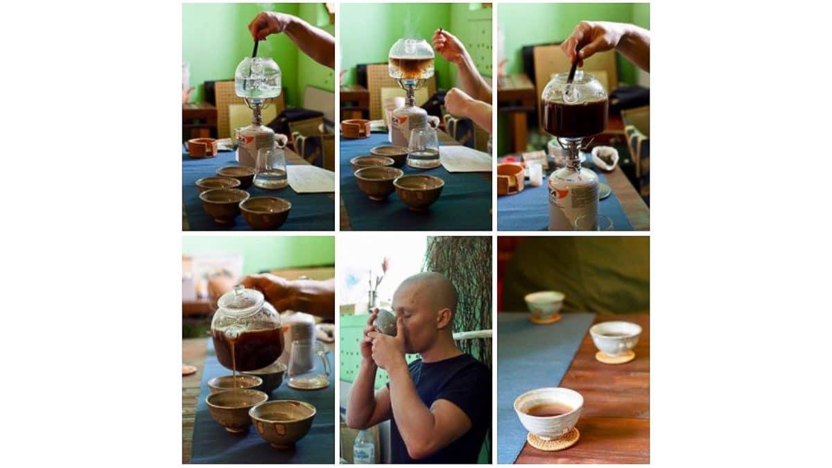 Илья Распопов заваривание чая фото